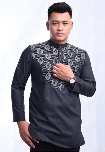 UA BOUTIQUE black Kurta Batik SEKLC02-011 (Black) F57CAAA814F7BEGS_1