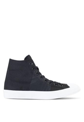 Converse black Chuck Taylor All Star II Sneakers Hi CO302SH55BKMMY_1