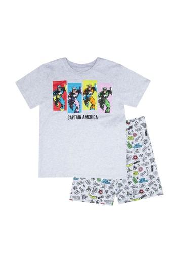 FOX Kids & Baby grey Printed Pyjamas Set 11BA6KA523DFD8GS_1