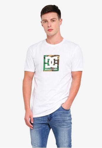 f7ccf98ade13 DC Shoes white Men's Camo Boxing Short Sleeve T-Shirt 289BEAA93ACC65GS_1