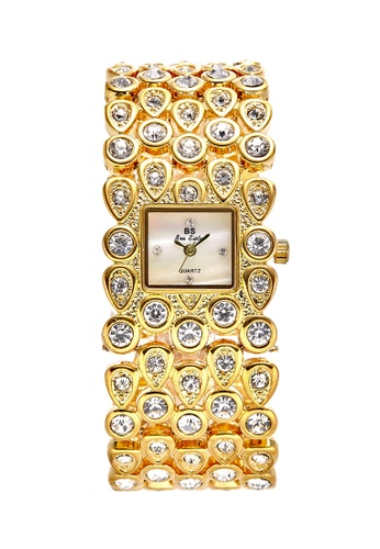 Bee Sister gold Japan Design Japan Movement Bee sister Watches 53B31ACD80C382GS_1