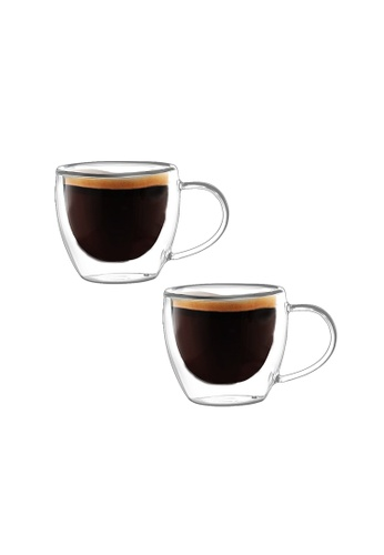 Crysalis n/a Espresso Cup Double Wall  90ml - 3oz Set of 2 29293HL8F3D66BGS_1