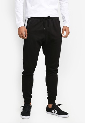 Factorie black Stripe Fleet Trackie 2B623AA04F5B68GS_1
