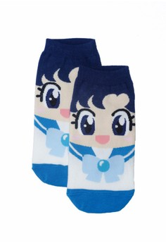 Sunny Sailor Light Blue Socks