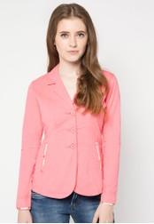 LOIS JEANS pink Long Sleeve Blazer LO391AA13VOOID_1