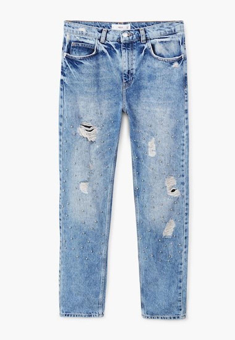 Jeans Mango Blue Pearl Open Embroidery xaYa4r