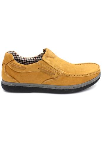 midzone yellow SCORPION Leather Casual Shoes MI949SH45ZHEMY_1
