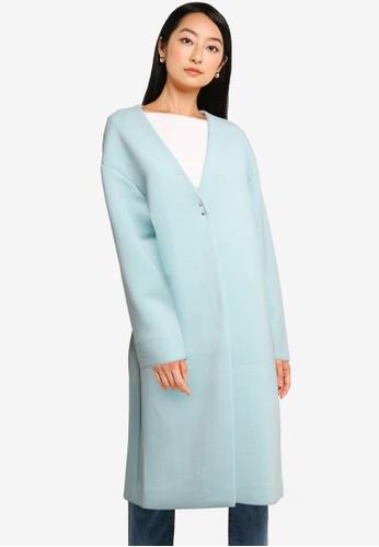 niko and ... green Ladies Long Coat 7E612AA27E15BAGS_1
