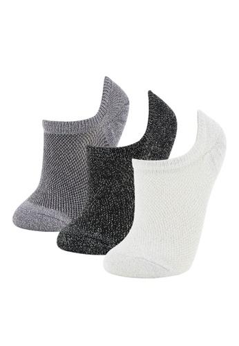 DeFacto multi Woman 3-pieces Low Cut socks 3262CAAAF599BDGS_1