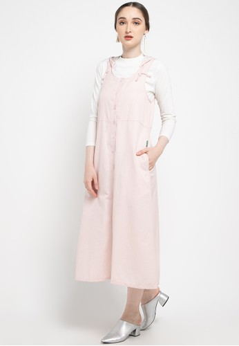 Point One pink RENATA Overall Hoodie 47D99AA5782AABGS_1