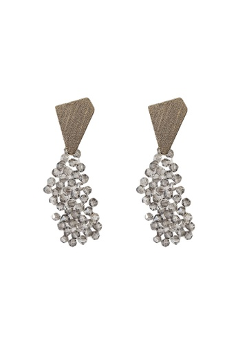 niko and ... grey Abstract Earrings 3FABFAC4E7D3ABGS_1