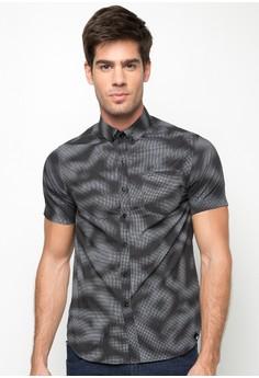 Basic Printed Short Sleeves Shirt