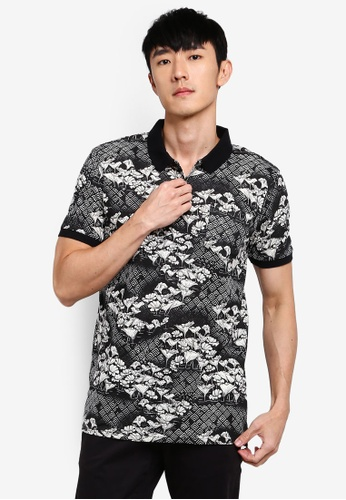 Cotton On 多色 Wood Block Polo 襯衫 1A7F9AA2148B9AGS_1