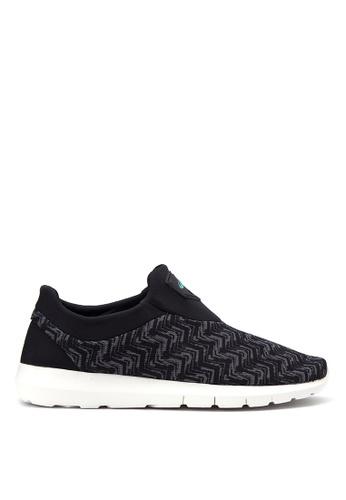 World Balance black Lite Flex Sneakers WO444SH43EEQPH_1