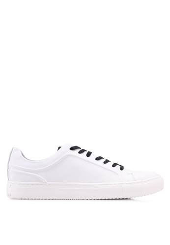 Kenneth Cole white Kcny Elite Sneakers 04DA8SH9FE40D5GS_1