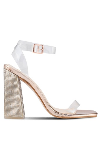 2d20a1a44b2 Buy Public Desire Ayda Glitter Block Heels Online on ZALORA Singapore