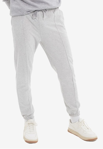 Trendyol grey Gray Jogger Pants C14C3AA49EAB81GS_1