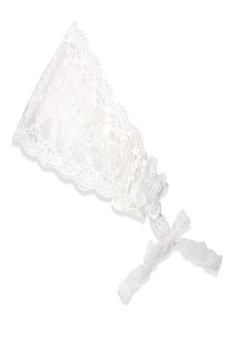 Organic mom white Organic Cotton Elsie Lace Headband AFF2CKCEC1E2D5GS_1