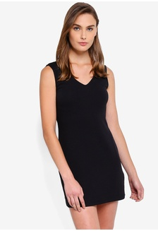 846a0fc01c Basic Back Insert Shift Dress ZALORA BASICS Basic Back Insert Shift Dress  Php 799.00 · Patch Detail Sleeveless Skater Dress