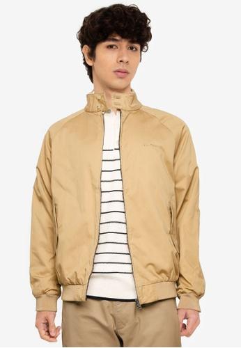 Ben Sherman brown Signature Harrington Jacket 4D683AAAE129C6GS_1