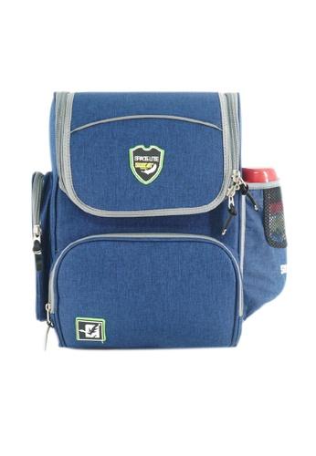 Swan blue Swan Bag Space Lite Basic(Blue) Spinal Protection Back Support Spacious School Bag Very Light Kids Bag 0D256KCEAEDB62GS_1