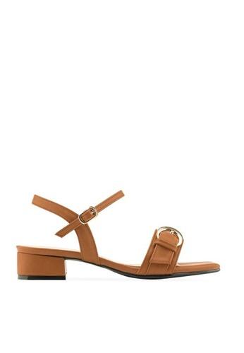 SPUR Double Circle buckle strap sandals 01146SH3393EDAGS_1