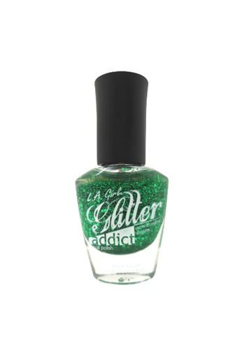 L.A Girl green LA Girl Glitter Addict Purge B04ABBE58A7280GS_1