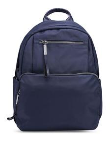 PU-Trimmed Nylon Backpack EB90CACC4FCB3DGS 1 894b04f339440