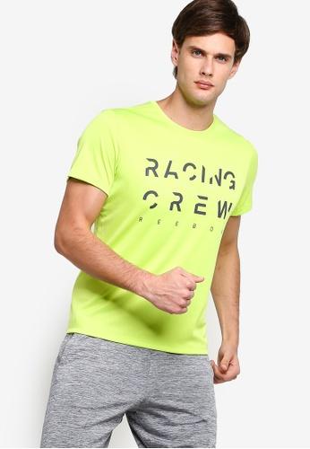 Reebok 綠色 慢跑T恤 0D252AA646AB52GS_1