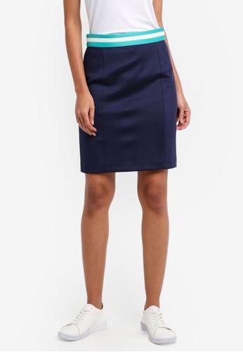 ESPRIT navy Woven Mini Skirt D8FEDAAF97FFDEGS_1
