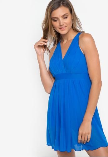 Chase Fashion blue Diana Strappy Back Swim Dress CH547US48VVNPH_1