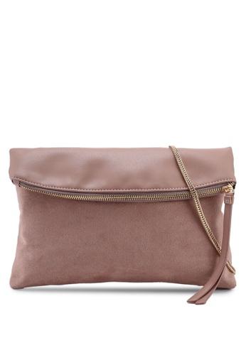 939f233a7e Dorothy Perkins pink Blush Foldover Clutch Bag 703D6AC6252ECDGS 1