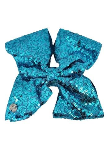 Jojo Siwa blue Jojo Siwa Bow With Clip (Blue Sequin) 353A1KCEB4838DGS_1