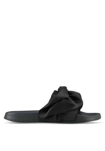 Rubi black Wild Slide Sandals RU506SH0SKU4MY_1