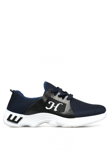 New York Sneakers navy Davey B57 Men's Rubber Shoes 651B2SH2F2E490GS_1