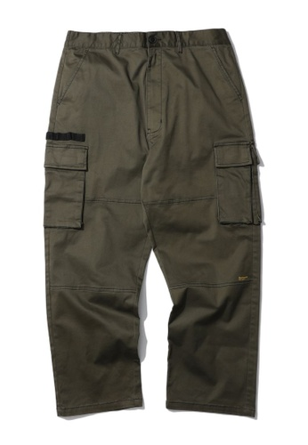 Fivecm green Cargo pants EC05CAA295F96DGS_1