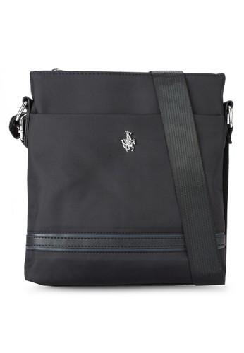 仿皮邊飾拉鍊斜背包, esprit暢貨中心包, 包
