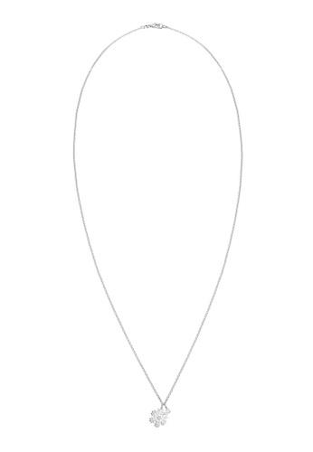 ELLI GERMANY silver Necklace Pendants Snowflake Classic Moonstone Crystals EL474AC0SEVDMY_1