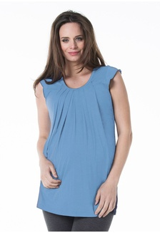 df9b3edf98728f Knitted Sleeveless Briar Drape Top Perry 35416AA027C711GS 1 Bove by Spring  Maternity ...