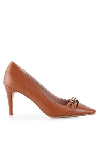 Mandy's brown Intrique Brown Heels MA947SH16TFJID_1