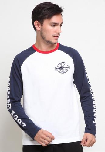 Hammer white Hammer Men T-Shirt Fashion E1TF651 W1 White 6C0DEAAB991111GS_1