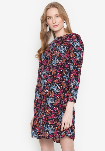 Springfield purple Floral Tunic Dress 62A39AA8CE2AD2GS_1