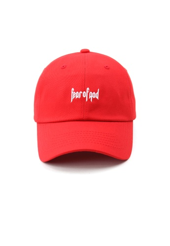 M-Wanted red M. #FEAR Baseball Cap 53E8CAC2E83553GS_1