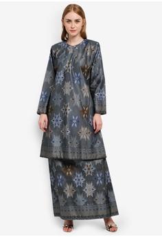 Fesyen long dress terkini 2018