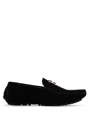 High Cultured black Velvet Loafers-232 822ACSH7A7BD07GS_1