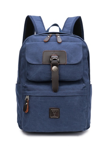 DUSTY blue At-Backpack 39220AC4ADDC1FGS_1
