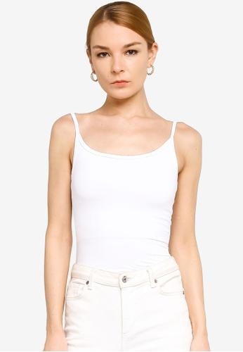 Gene Martino white Inner Wear Camisole 1D129AA0319C41GS_1