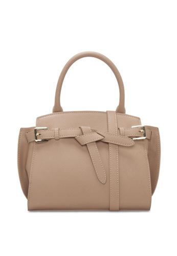 VINCCI beige Satchel Bag 837D1AC0C28699GS_1