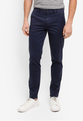 BOSS navy Schino-Tapered D Pants - Boss Casual A69A3AA67A9594GS_1