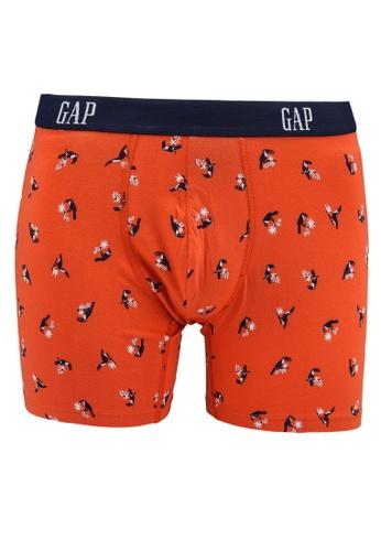 GAP orange Logo Boxers 0FBA6US600775DGS_1